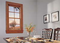 Jeld-Wen Double Hung Wood Window with Grids