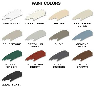 ProVia Paint Colors