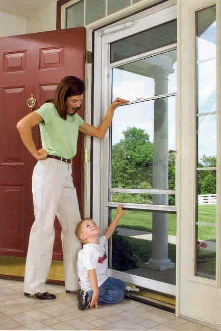ProVia Spectrum Storm Door with Retractable Screen