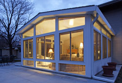 Custom Designed Sunrooms to fit your Home and your Lifestyle!