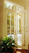 Patio doors omaha door window for Single swing patio door