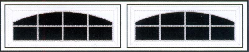 Stockton Arch 8 Panel 800x169 Omaha Door Amp Window