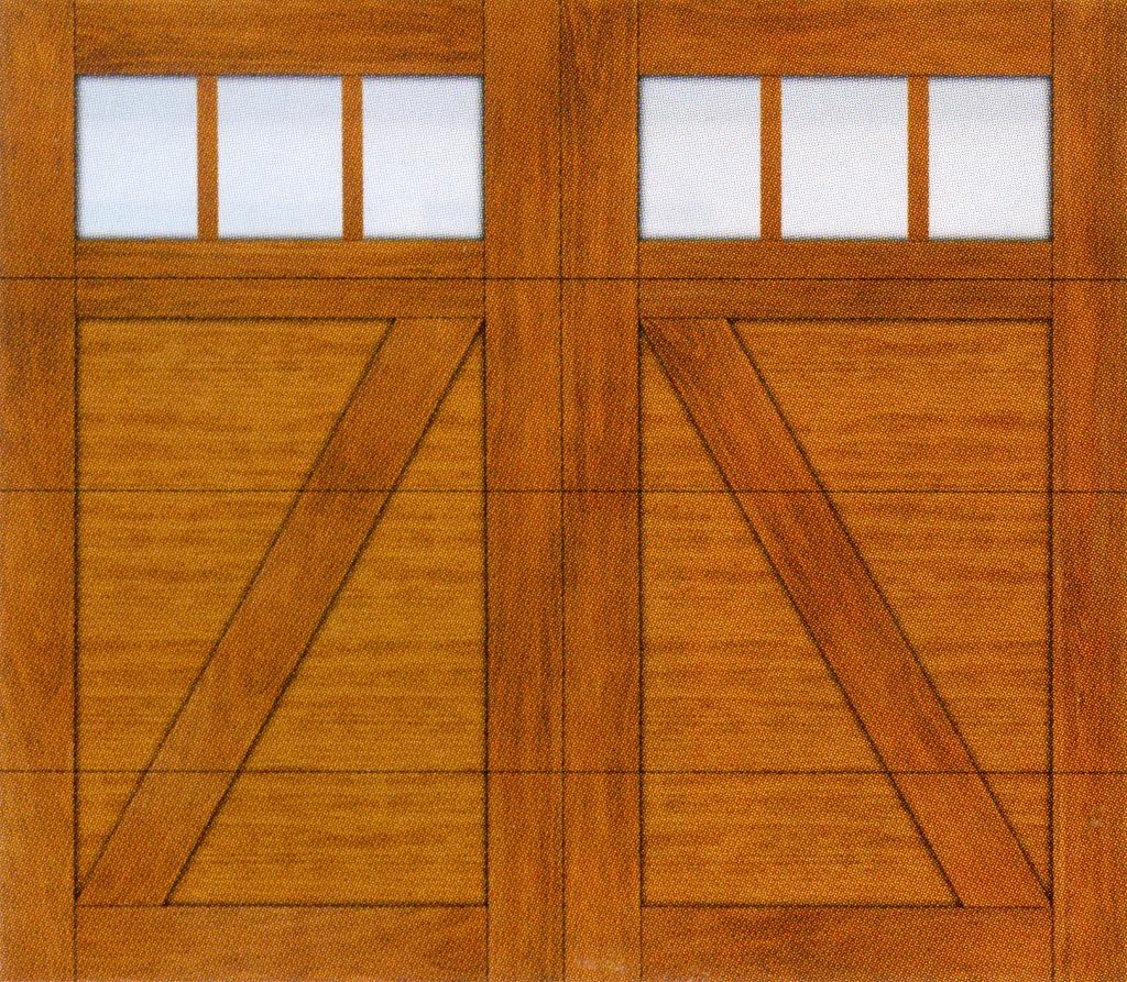 Canyon ridge ultra grain series omaha door window for Clopay canyon ridge ultra grain price