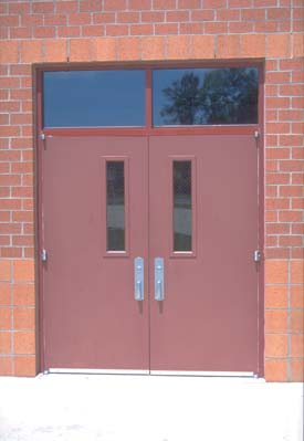 Metal Entry Doors. Ceco Veradoor Hollow Metal Entry Doors  Omaha Door Window