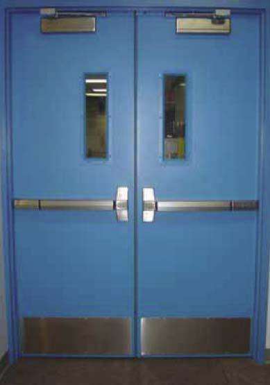Commercial Exterior Double Doors