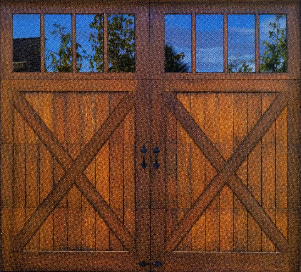 Clopay reserve collection omaha door window for Residential wood doors